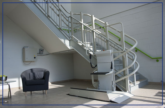 Inclined Platform Lifts | Gulfside Elevator & Cab Interiors, LLC