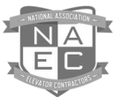 National Association Elevator Contractors Logo | Gulfside Elevator & Cab Interiors, LLC