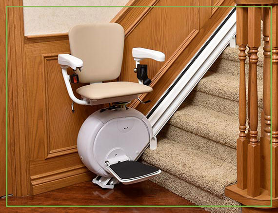 Straight Stair Lift | Gulfside Elevator & Cab Interiors, LLC