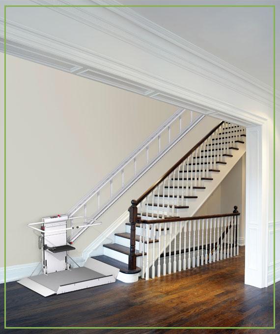 vertical platform lift wheelchair lift | Gulfside Elevator & Cab Interiors, LLC